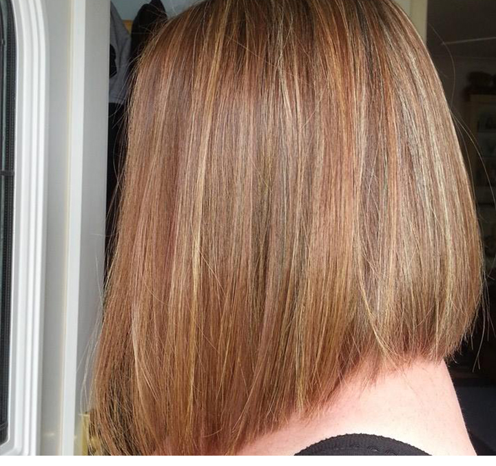 Hair cut and colour image - Hairdresser Sandhurst